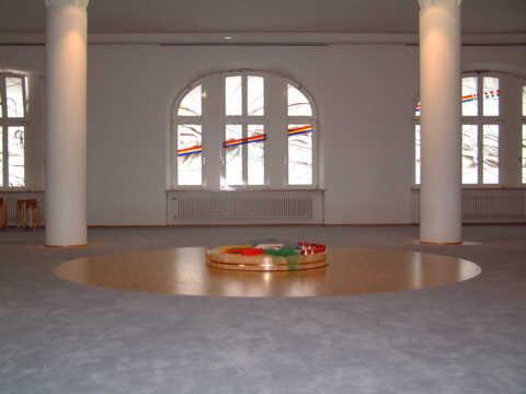 Charmant Die Gestaltung Des Raumes Führt Zur Mitte, Zum Eigentlichen Hin. Die Mitte  Kann Durch